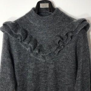 Zara Frilled Mohair Sweater